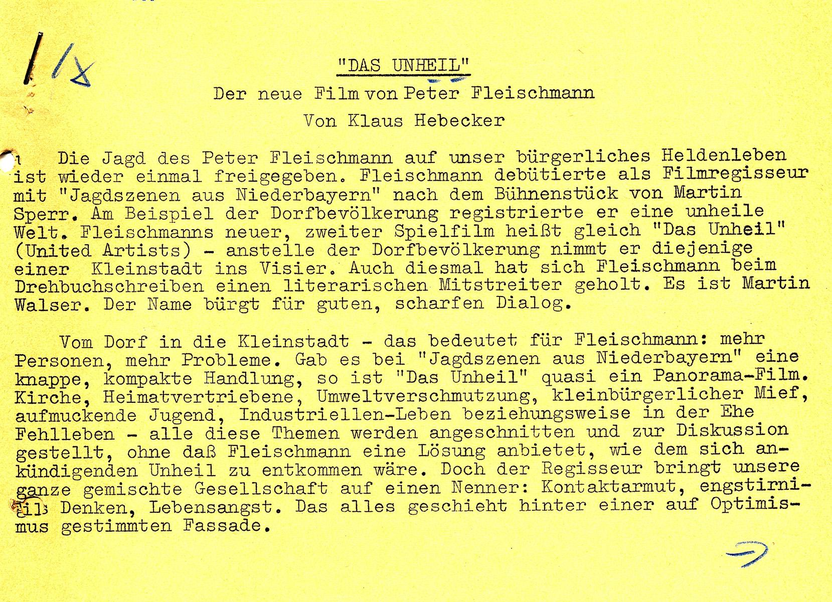 Artikael von Klaus Hebecker Seite 1