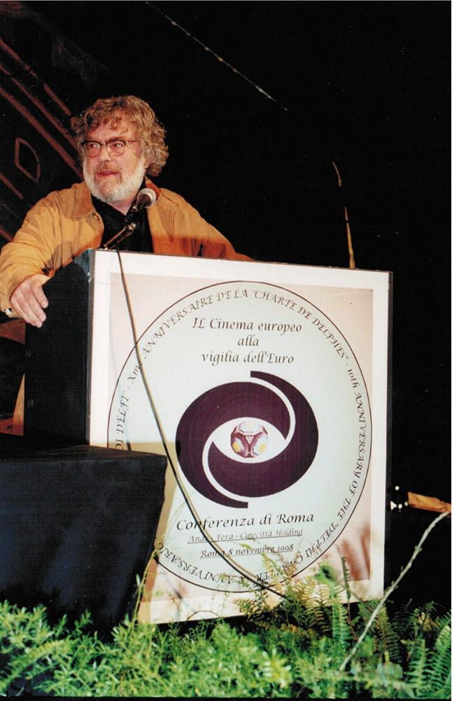 Rede zum Europäischen Kino in Rom 2001