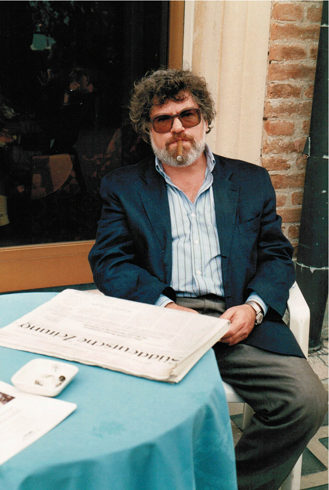 Bei den Filmfestspielen in Venedig 1991