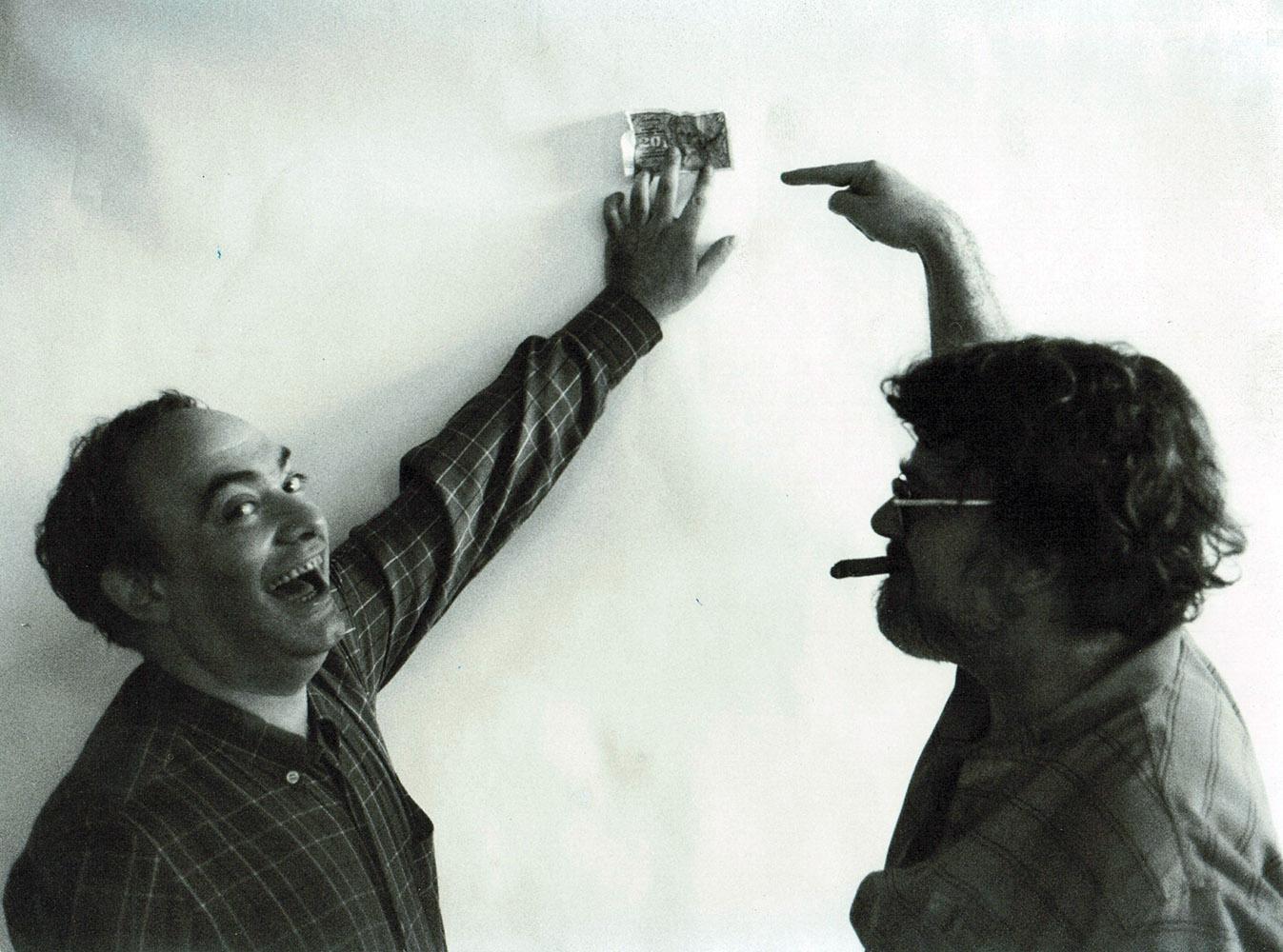 Peter Fleischmann und Roland Topor